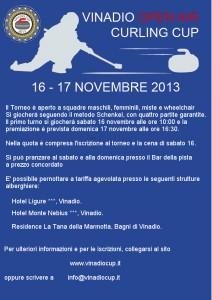 Volantino Vinadio Open Air Curling Cup 2013 (retro-info)