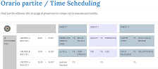 Time Scheduling